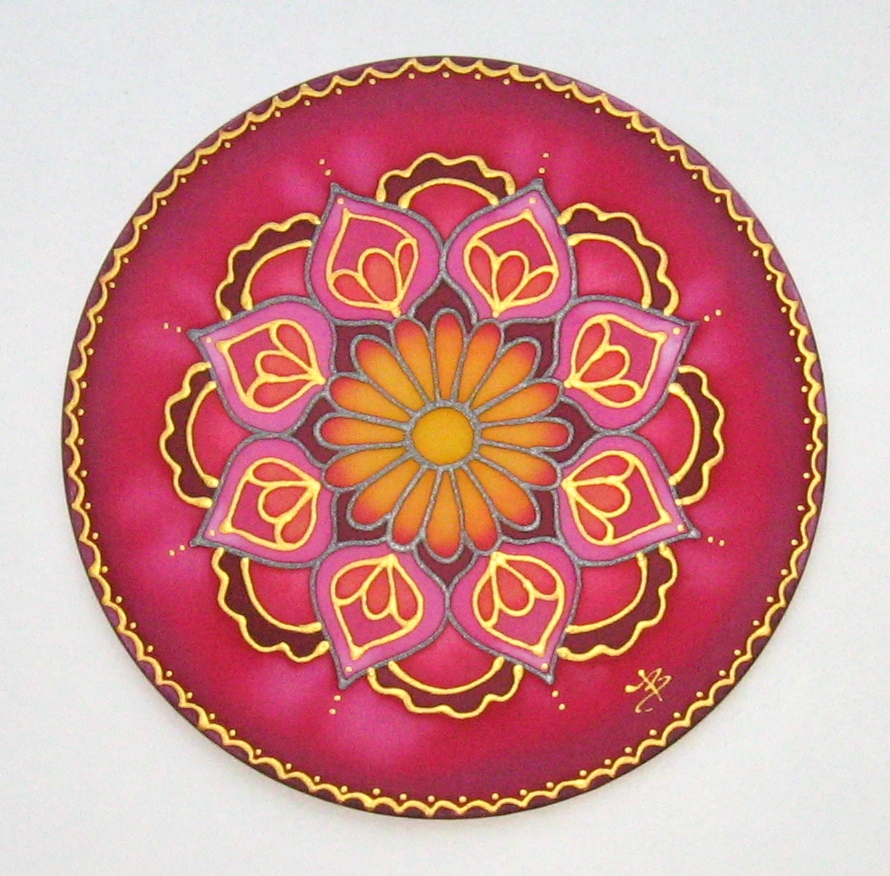 Let S Paint On Silk The First Steps Of Silk Painting Silkmandala