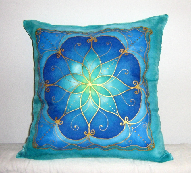 Silk Painting Silkmandala